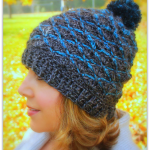 Steel Ridge Beanie… Free Crochet Pattern!!
