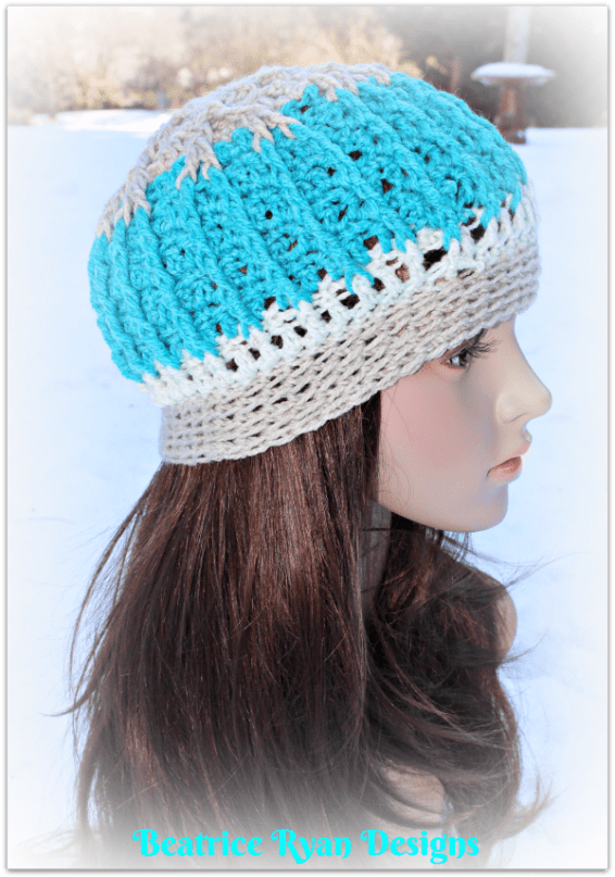 snow-mountain-beanie-free-crochet-pattern
