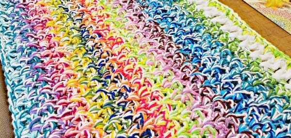Scrap Buster Scrapghan Crochet Along!!  Week 2 instructions!!