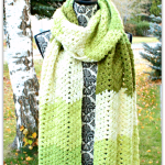 Green Tea Scarf… New Free Crochet Pattern!!