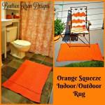 Orange Squeeze Indoor/Outdoor Crochet Rug… Free Crochet Pattern!!