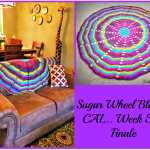 Sugar Wheel Baby Blanket Crochet Along… Week 5!!!