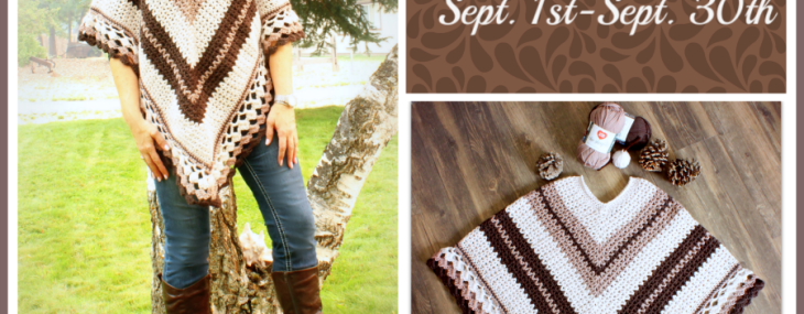 Coffee and Cream Poncho Crochet Along… Week 2!!!