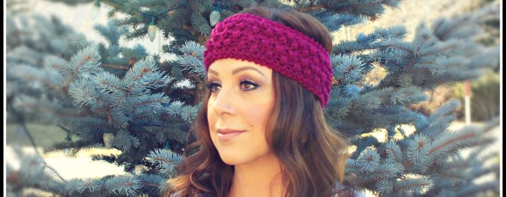 Berry Blitz Headband… Free Crochet Pattern!