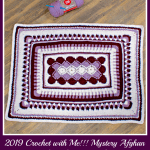 2019 Crochet with Me!!! Mystery Afghan Crochet Along… Week 4!