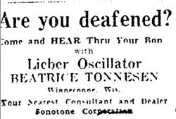 Beatrice Tonnesen Hearing Aids