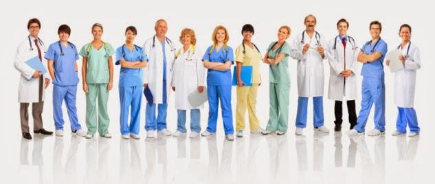 Resultado de imagen de profesionales sanitarios