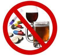 Resultado de imagen de alcohol y medicamentos