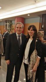 con Jesús Aguilar, presidente del CGOCF