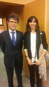 con Humberto Arnés, Presidente de SIGRE