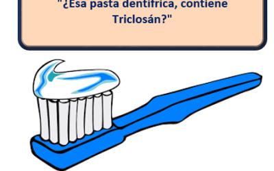¿Qué pastas de dientes NO contienen triclosán?