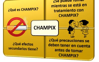 ¿Qué es CHAMPIX? ¿Se necesita receta médica? ¿Cómo se toma? ¿Puedo fumar mientras lo tomo?…