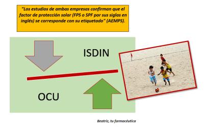 «ISDIN 1 – OCU 0»