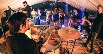 Beats Working Wedding Band Surrey playing at a wedding in Somerset