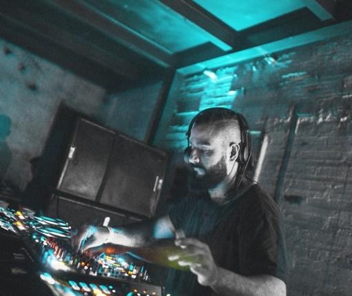 Sckribled DJ on the decks