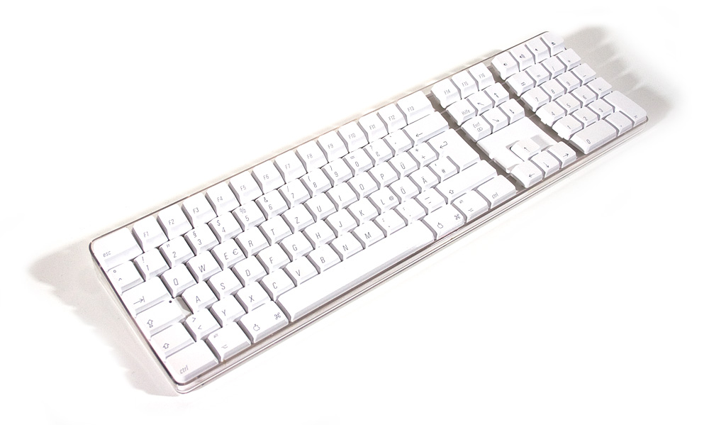 Apple Wireless Keyboard Bluetooth ·Tastatur weiss dt