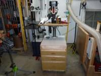 Rolling Drill Press Cabinet - BeauBilt