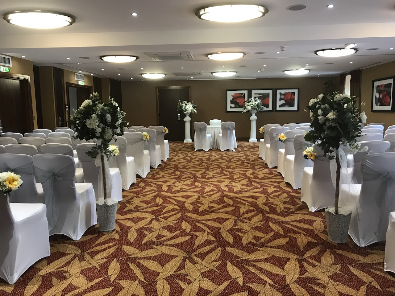 chair covers and sashes hampshire beach chairs walgreens cover hire beau blush events