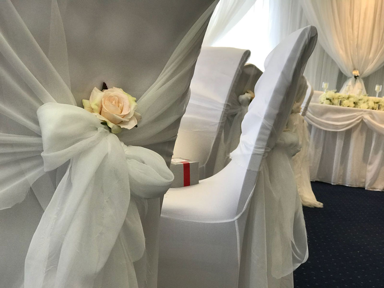 chair cover hire guildford black windsor dining chairs beau blush events