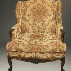 Windsor Style Chairs Revolving Chair Parts Antique French Louis Xv Wingback Chair.