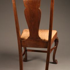 Antique Ladder Back Chairs With Rush Seats Portable Potty Chair For Elderly Set Of 8 Mahogany Claw Feet.