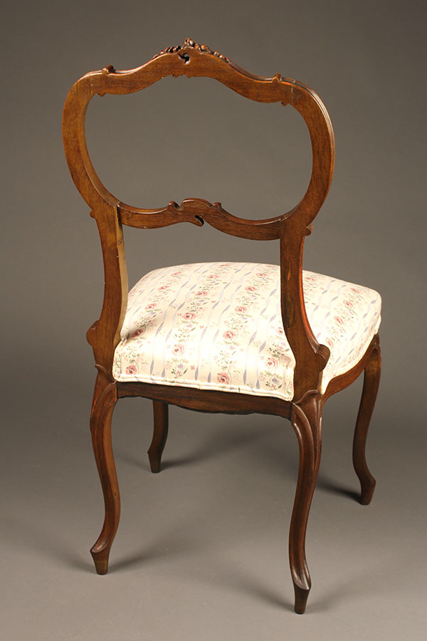 louis xv chair office with desk attached set of 4 antique style chairs a5316d french
