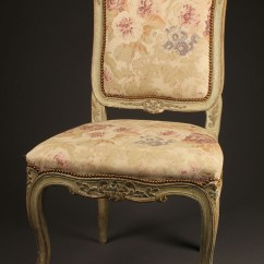 Louis Xv Chair Mac Makeup Antique Pair Of French Style Side Chairs A5415b
