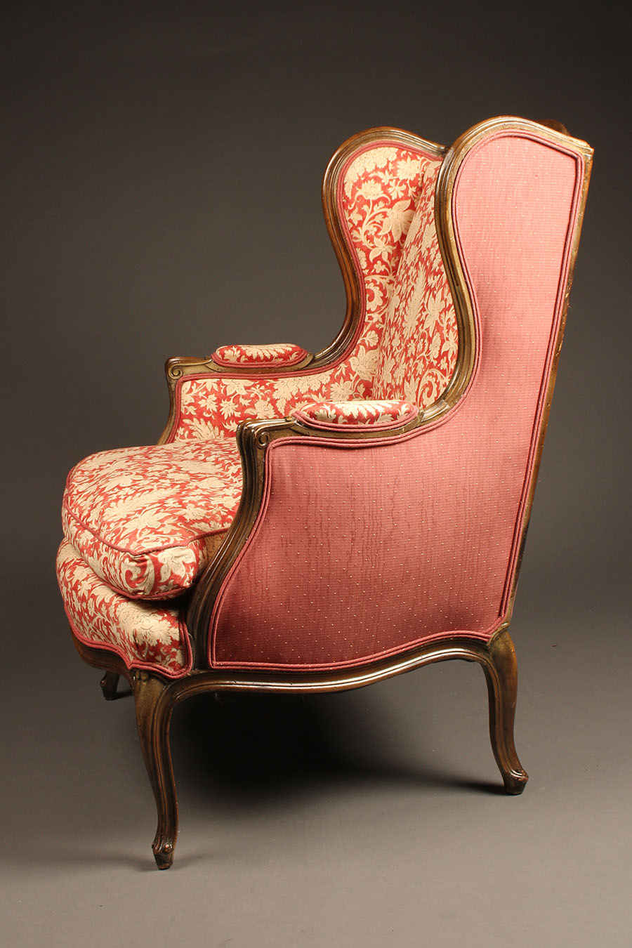 Pair of wingback or wing chairs