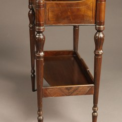 Chair Side Book Stand Lane Office Antique English Mahogany Made In A5758b A5758f