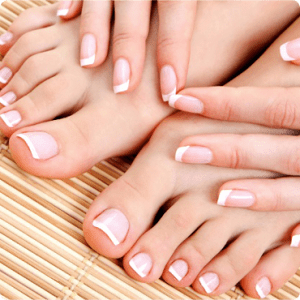 Express Gel Manicure and Gel Pedicure