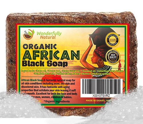 Wonderfully Natural Organic Black Soap