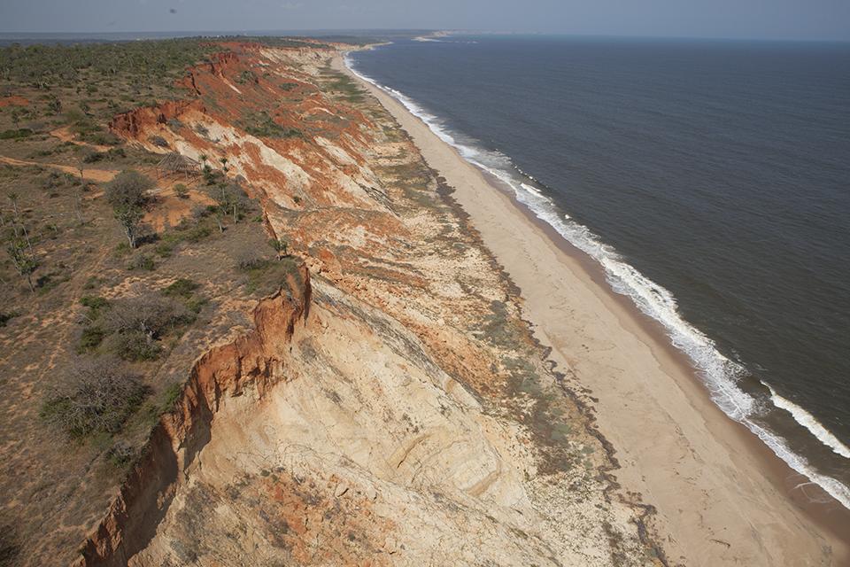 Angola coast
