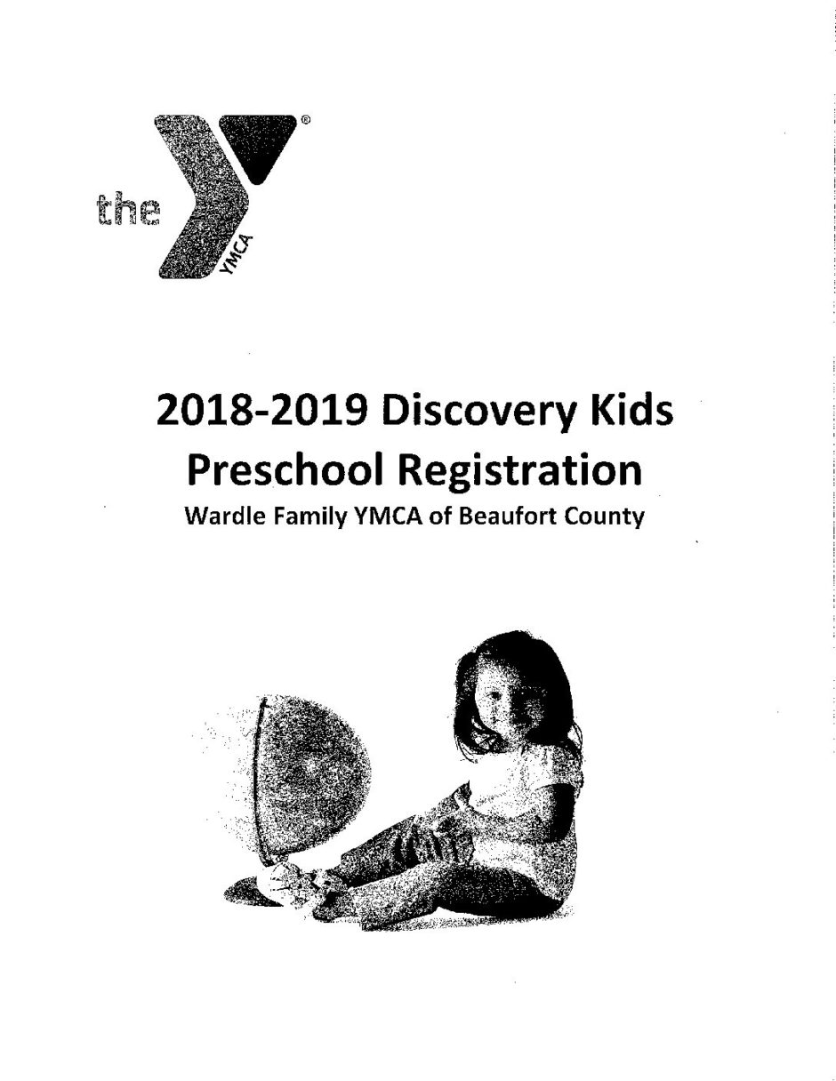 Discovery Kids Preschool Registration Handbook-2018-2019