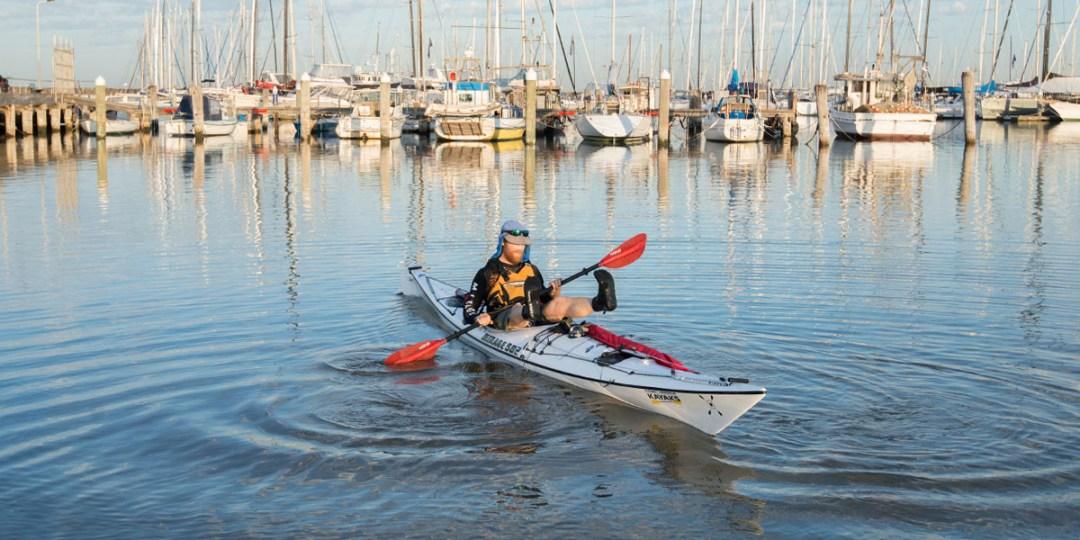 Beau in Boat