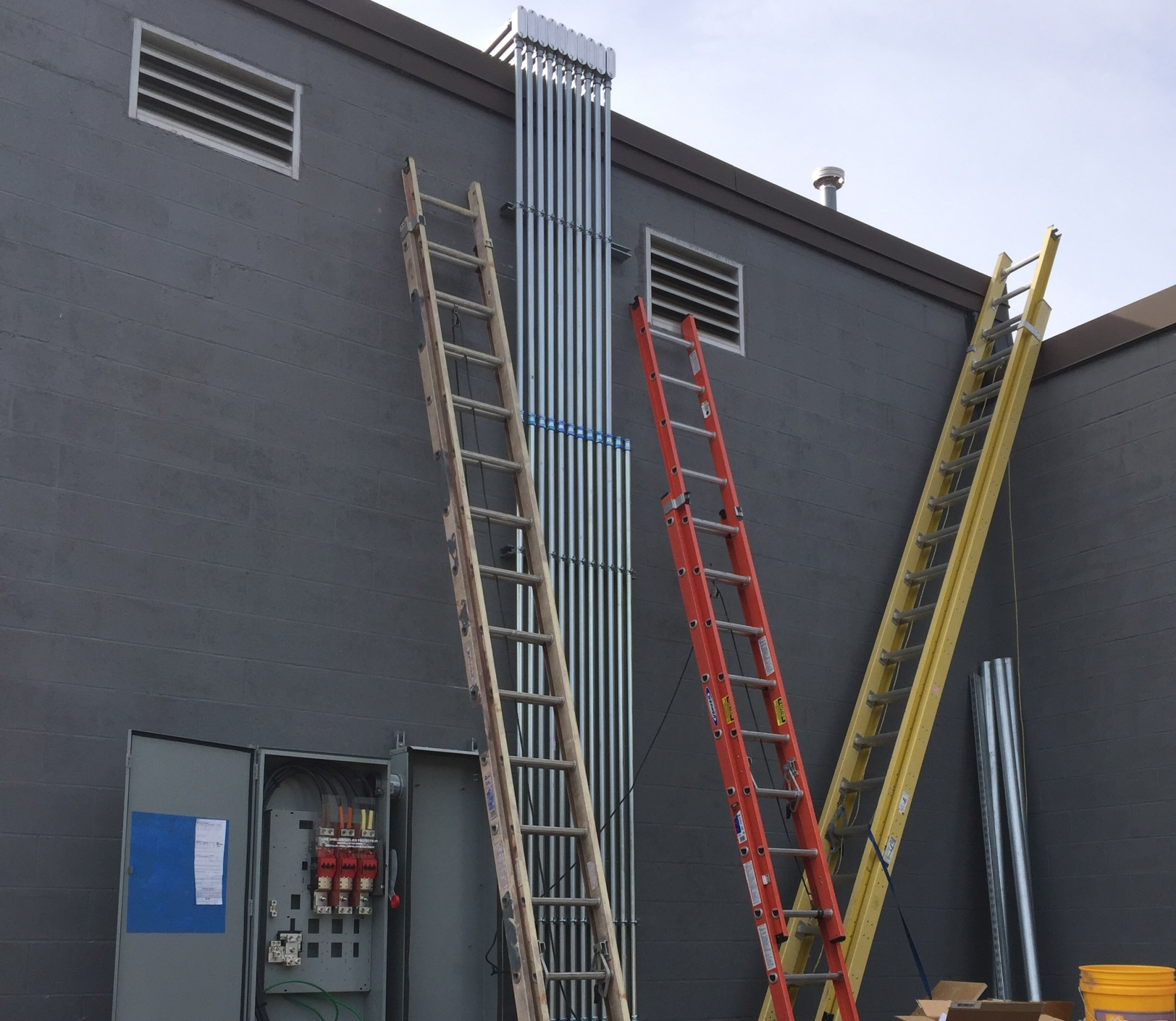 hight resolution of our highly trained electrical team takes great pride in ensuring the asthetics of a customer s building here you can see how they used precision in bring
