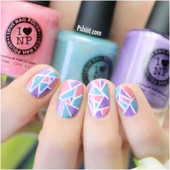 Mosaic Nail Trend (19)