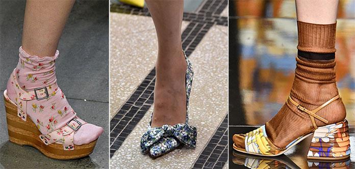 Floral prints στα παπούτσια για τη σεζόν Άνοιξη / Καλοκαίρι 2020