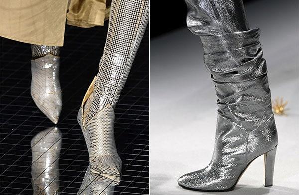 Αστραφτερές μπότες