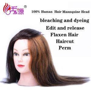 salon hairdresser training head