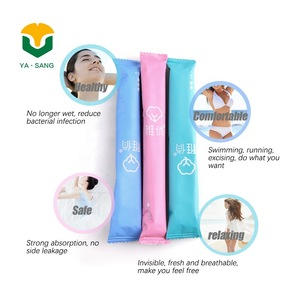 100% Cotton BPA-Free Plastic Applicator Tampons - Xian Yasang Business Trading Co.. Ltd.   BeauteTrade
