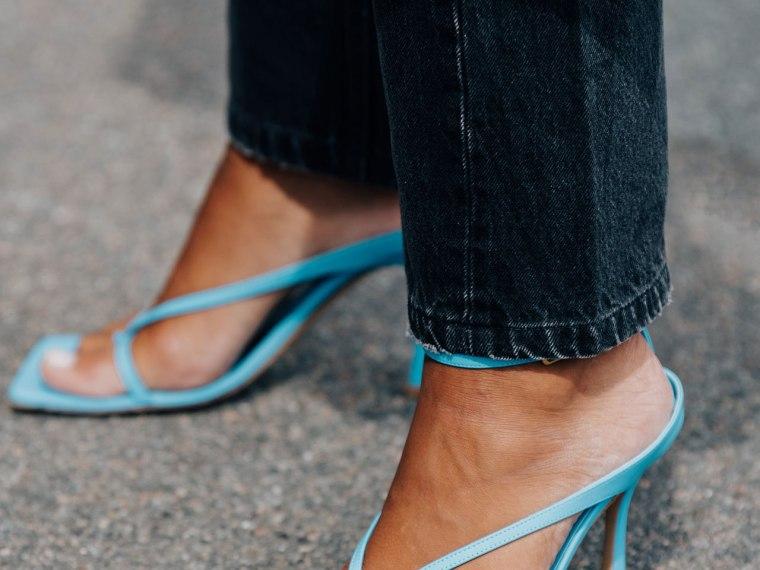 tren square toe sandal