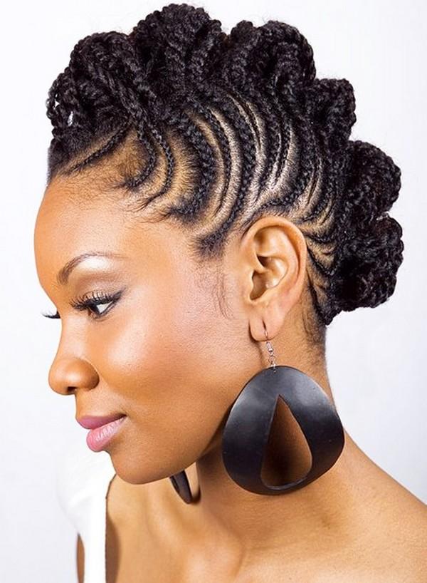 Ghanaian hairstyle braiding