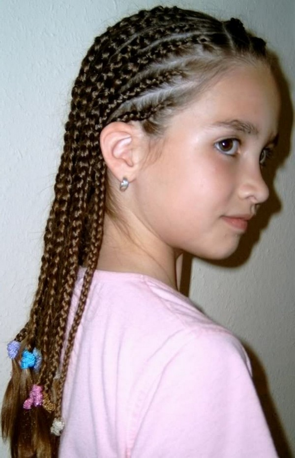 21 Natural Cornrow Hairstyles with Pictures 2018