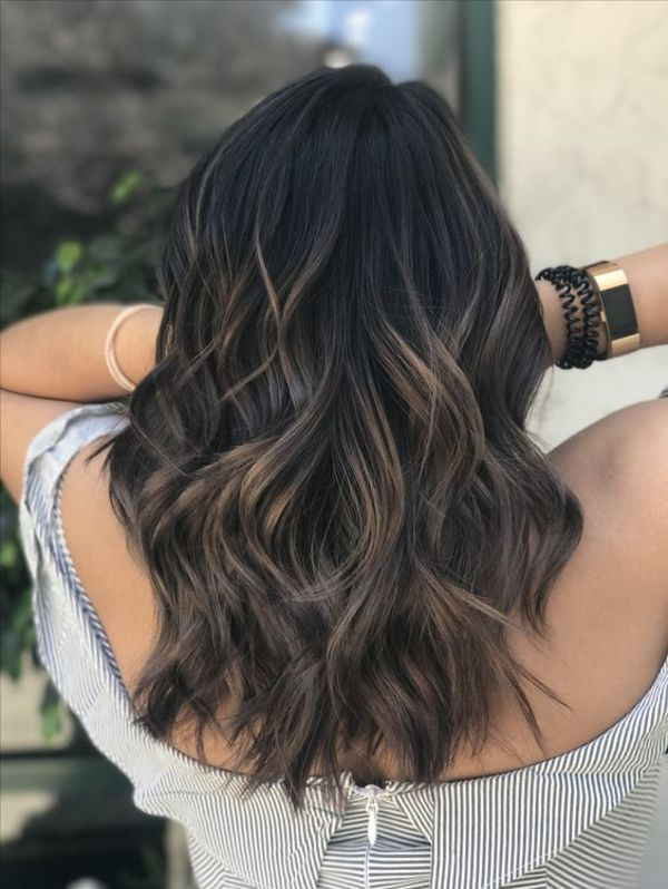 Ash Brown Hair Highlights