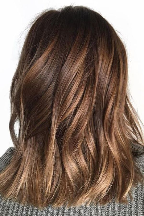 Chocolate Brown Hair Highlights