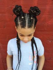 trendy braids kids