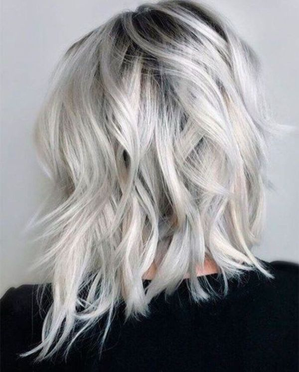 Platinum Blonde Hair Highlights