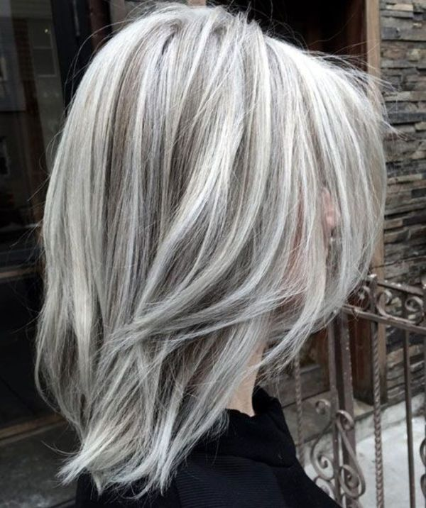 White Hair Highlights