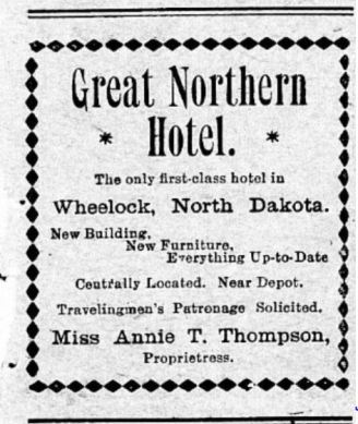 May 1906 Great Northern Hotel advertisement