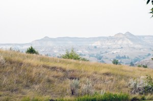 The National Grasslands border the North Dakota Badlands at the Burning Coal Vein